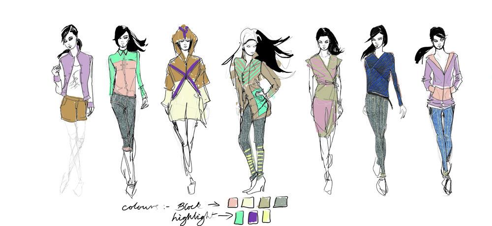 Fashion Design Illustration Innes Maran