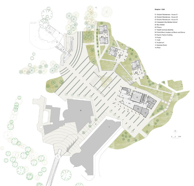 University of limerick grafton architects for How to read construction site plans
