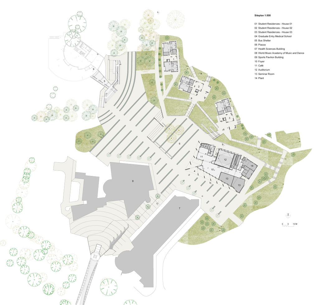Cluster House Plans University Of Limerick Grafton Architects