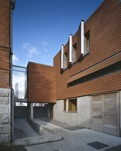 Urban institute of ireland grafton architects for Grafton architects