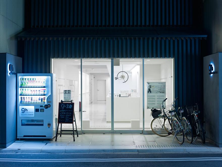Capsule Hotel Japan >> 9h Nine Hours - Jonathan Savoie > Architecture