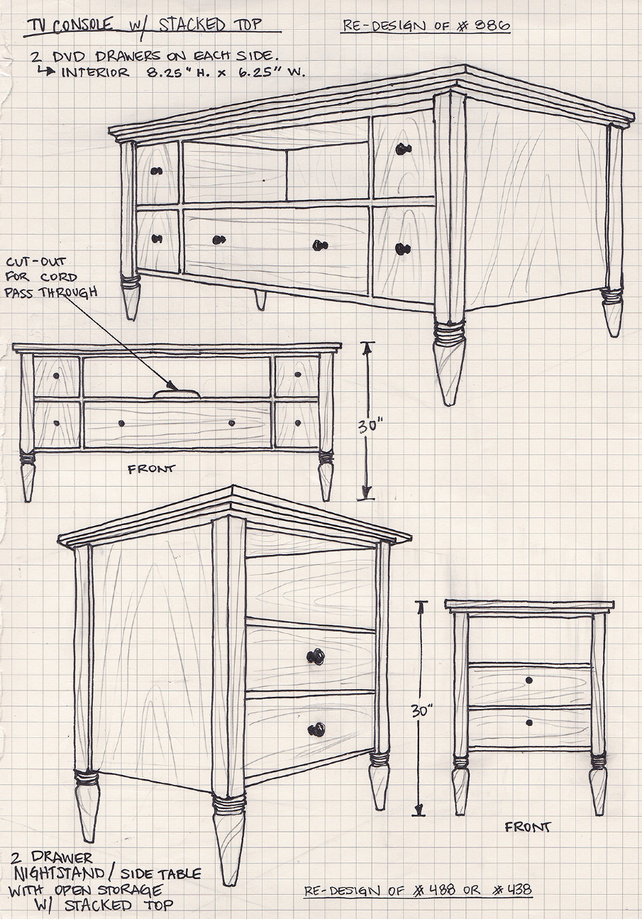Designing Furniture freelance furniture design - eliza alkire