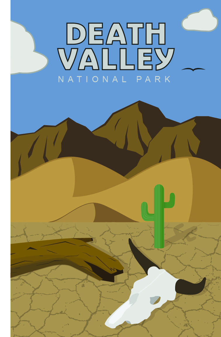 Death Valley Poster - Richard Lee